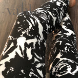 Plus Floral Leggings: Alexandria
