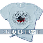 Sublimation Transfer : America-The-Beautiful