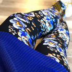 Plus Floral Leggings: Audrey