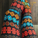 Plus Geometric Leggings: Beatrice