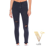 Judy Blue Black Button Fly Denim | VAHL
