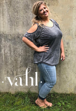 Plus Relaxed Fit Cropped Denim : Size 1XL | VAHL