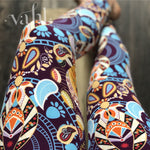 Plus Tribal Leggings: Cora