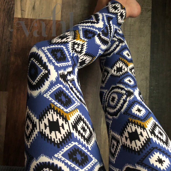 Misses Aztec Leggings: Dawna | VAHL