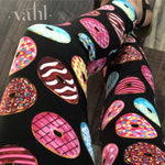 Plus Donut Leggings: Darling Donuts