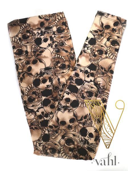 Misses Skull Leggings: Doom | VAHL
