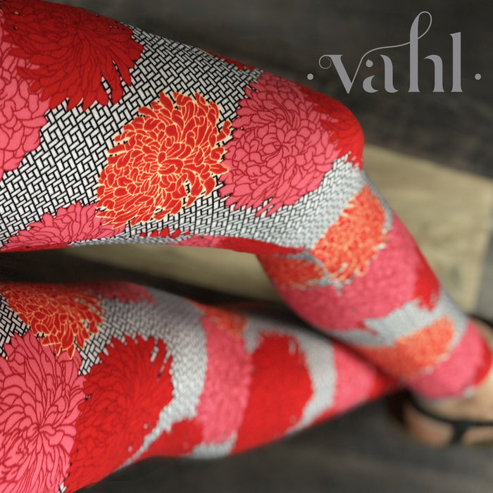 Misses Floral Leggings : Alice | VAHL