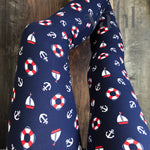 Misses & Plus Nautical Leggings : Harbor | VAHL