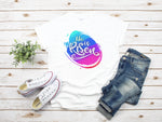 He Is Risen Graphic Tee | VAHL