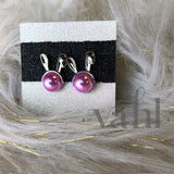 Bunny Vegan Pearl Earrings | VAHL