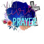 Livin' On A Prayer - Christian Sublimation Transfer | VAHL