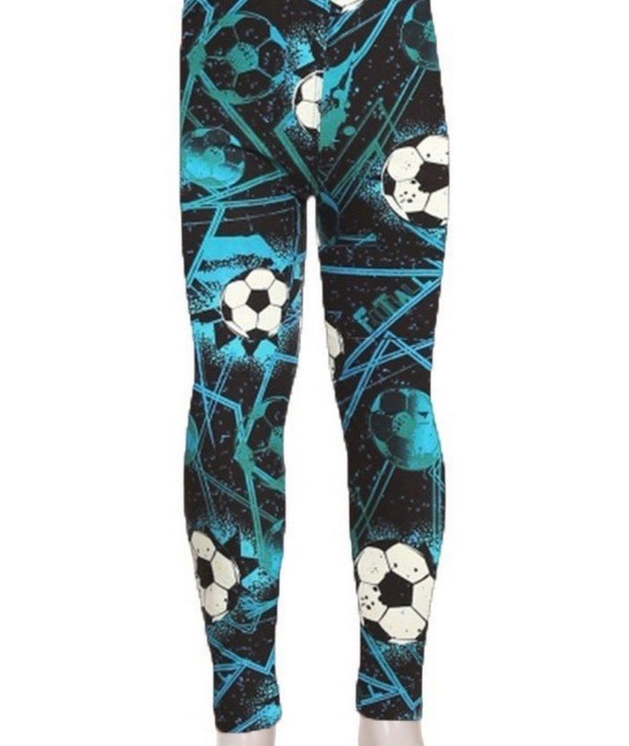 Kid's Print Leggings L/XL : Goal
