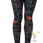 Plus Math Leggings - Wide Band : Ramona