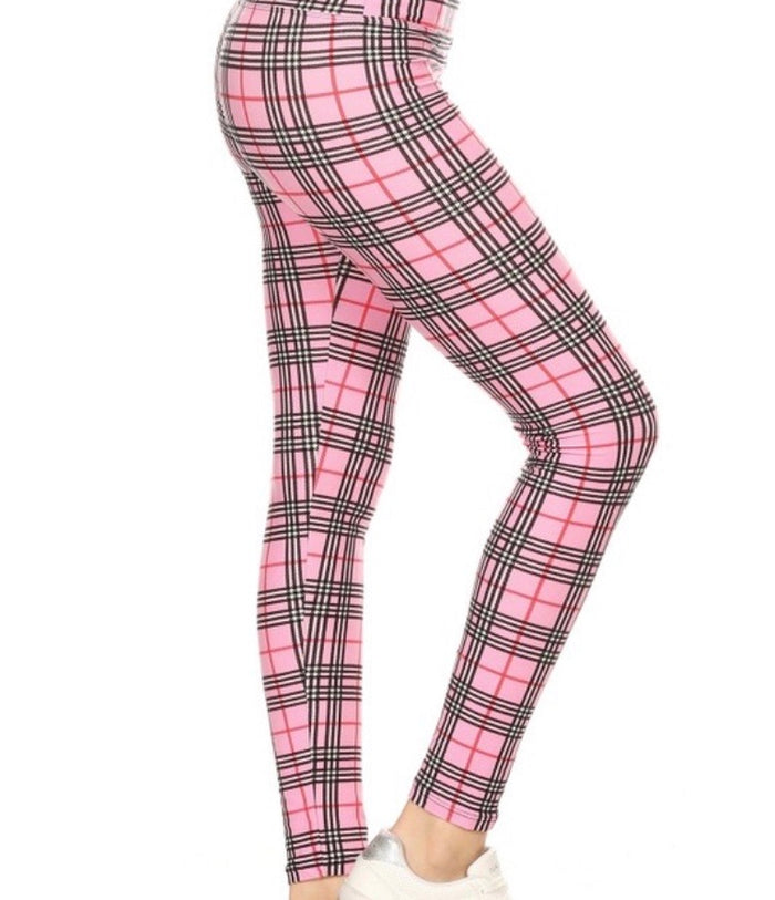 Misses Print Leggings - Yoga Band : Gracie
