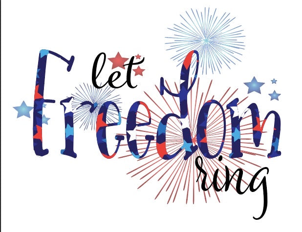 Let Freedom Ring Sublimation Transfer