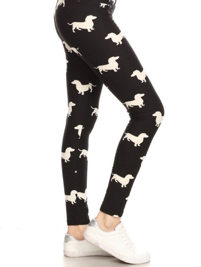 Kid's Print Leggings S/M : Mia