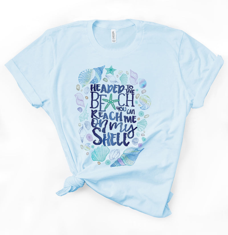 Adult Graphic Tee : Call Me On My Shell | VAHL