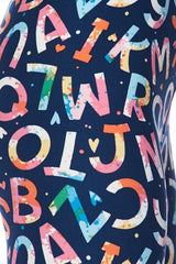 3X4X Alphabet Leggings : Alphabet | VAHL