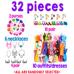 Kid's Barbie Clothes / Accessories 32 piece : Pre-Order | VAHL