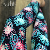 Plus Geometric Leggings: Jazmyn