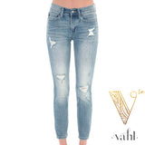Relaxed Fit Cropped Denim : Size 11 | VAHL