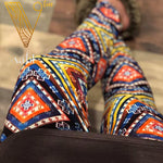 Misses Geometric Print Leggings - Kadence | VAHL