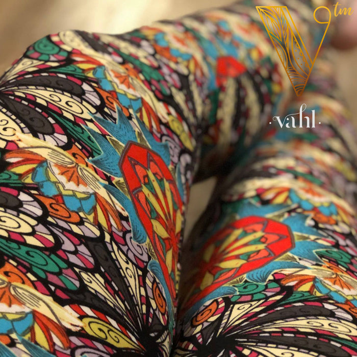Misses Geometric Leggings : Karumba | VAHL