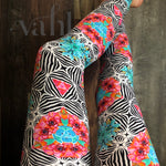 Plus Geometric Leggings: Kincaid