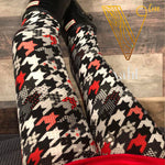 Kid's Houndstooth Leggings : Lauren | VAHL