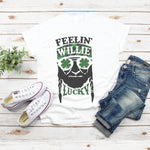 Willie Lucky Graphic T-Shirt