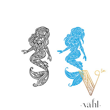 Free Mermaid SVG