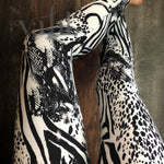 Plus Animal Print Leggings: Molly