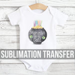 Mommys Gold Sublimation Transfer