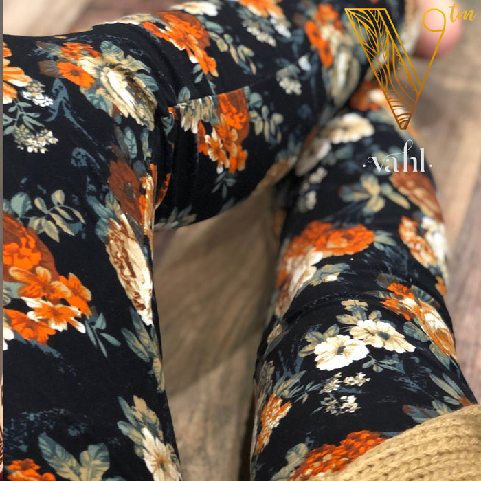 Misses Floral Leggings: Nicole | VAHL