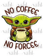 No Coffee Digital Download