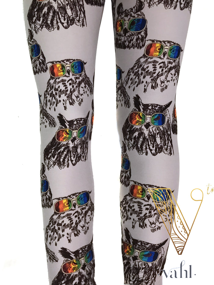 Misses Owl Leggings: Owl Right | VAHL