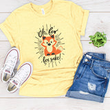 Adult Graphic Tee : Oh, For Fox Sake | VAHL