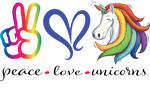 Peace Love Unicorns Digital Download