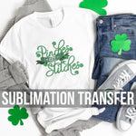Pinches Stitches Sublimation Transfer