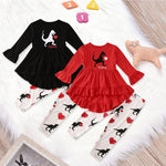 Baby Girls 2 Pc Dino Outfit