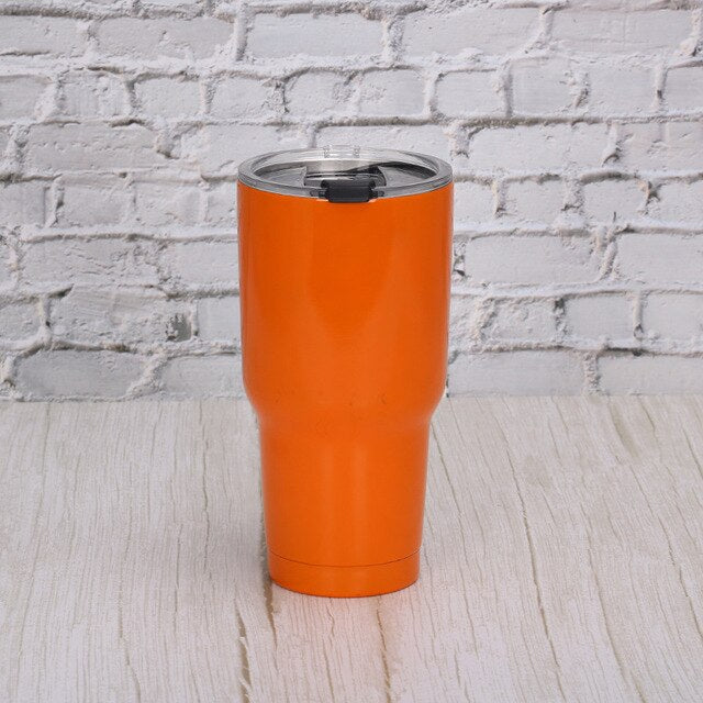 Stainless Steel Matte, Metallic, or Pattern Insulated Tumbler