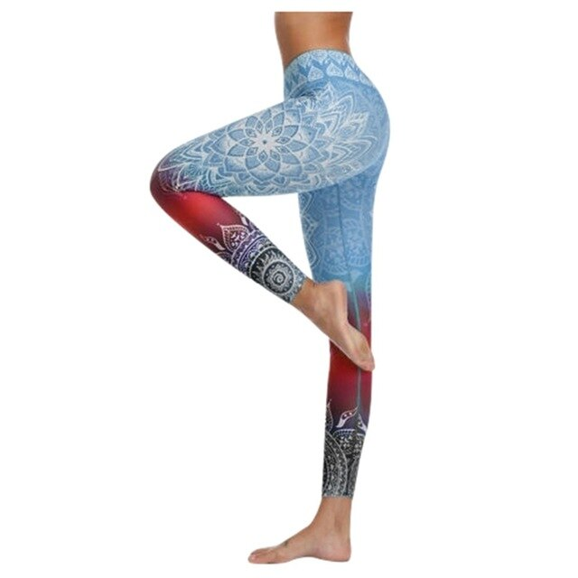 High Waist Push Up Workout Leggings