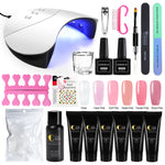 UV LED 36W Lamp Dryer Gel Nail Polish Kit
