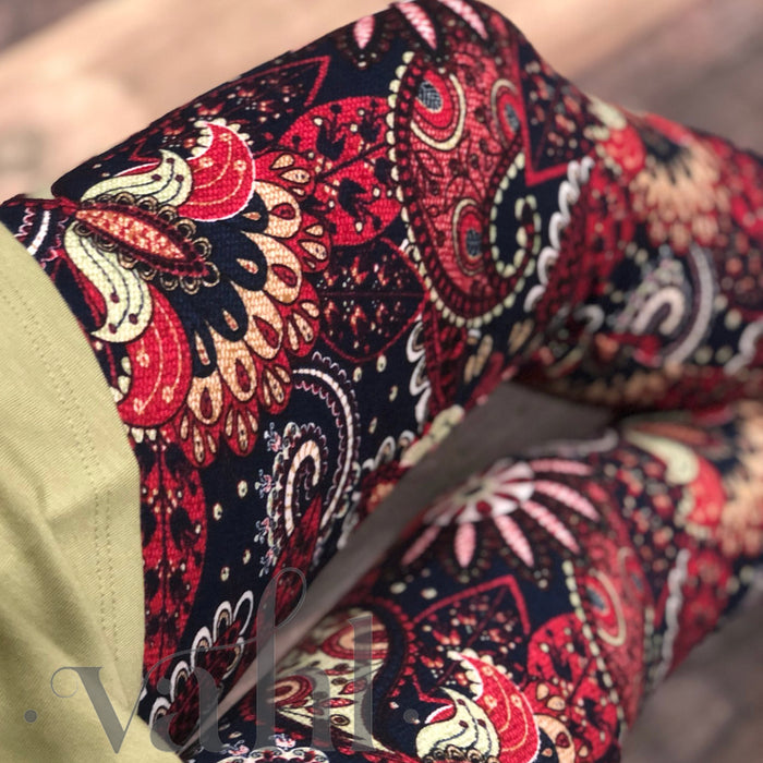 Misses Paisley Leggings: Rayann | VAHL