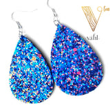 Glitter Tear Drop Earrings | VAHL