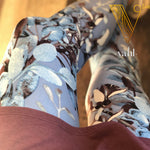 Plus Floral Leggings: Sallie