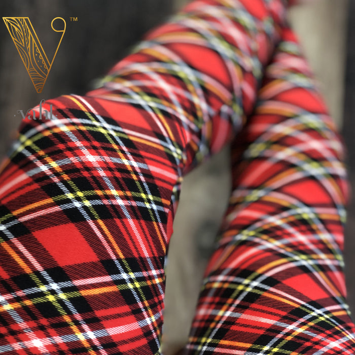 Kid's Plaid Leggings L/XL : Scottland | VAHL