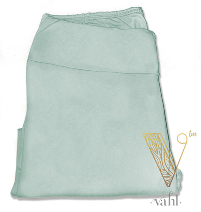 Misses Solid Leggings - Yoga Band : Seafoam | VAHL