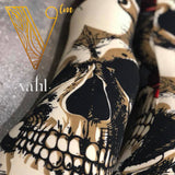 Misses Skull Print Leggings : Skelator | VAHL