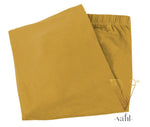 Plus Solid Leggings - Capri | Vahl : Mustard